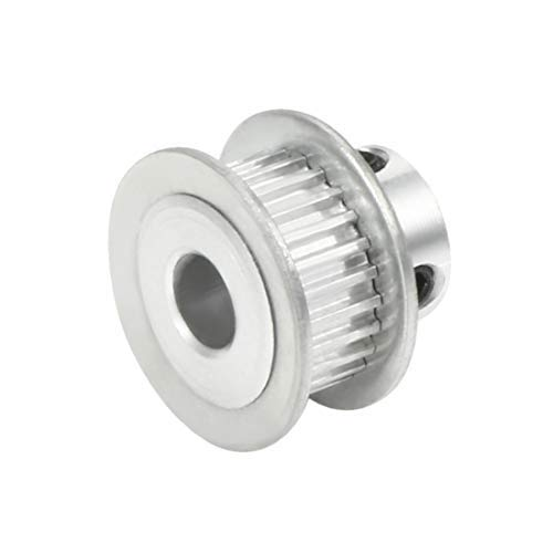 Aluminum MXL 25 Teeth 6 mm Timing Belt Diameter Crazy Pulley Flange Synchronous Wheel for 6 mm Belt CNC 3D Printer