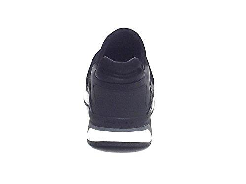 Crime Pelle 11740 Uomo Sneakers Camoscio Nero E A7102 qgqBU