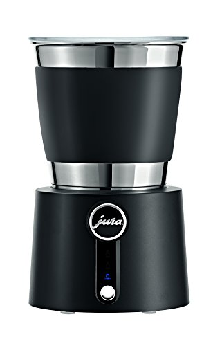 Jura 24029 Automatic Hot and Cold Milk Frother, Stainless Steel, 650 W, Black/Chrome