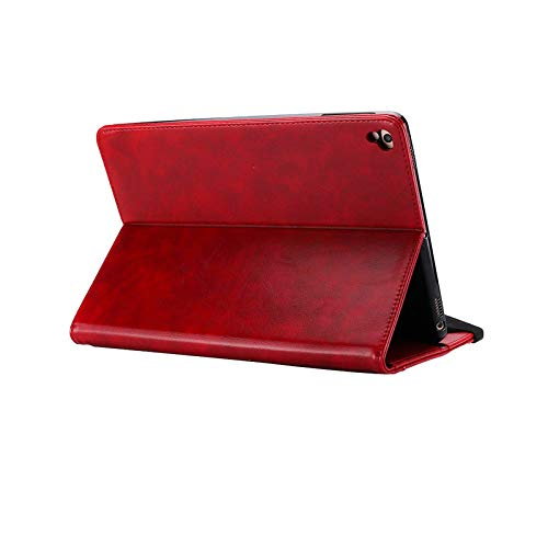 Case with Stand for ipad pro 12.9 2018,MeiLiio Full Body Protective Shockproof Case with Stand,Premium PU Leather Slim Protective Folio Cover for iPad Pro 12.9 Inch 3rd Gen 2018 Release,Red by MeiLiio (Image #5)