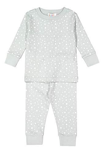 6769c9b21a08 giggle Printed PJ Set - Grey giggle dots - 100% Peruvian Pima Cotton,  Sleepwear