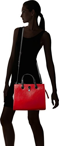 Shopper Black X Saffiano womens A Armani White Red Medium Exchange HwxY0qF