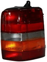 TYC 11-3043-01 Jeep Grand Cherokee Passenger Side Replacement Tail Light Assembly ()