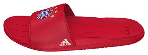 adidas Fcb Slide, Scarpe da Ginnastica Bambino, Rosso (Rojfcb/Ftwbla/Rojfcb), 35 EU