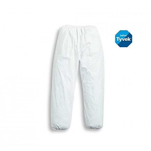 XL PT31LO Bianco Pantalone In Tyvek Dupont Mod Bianco