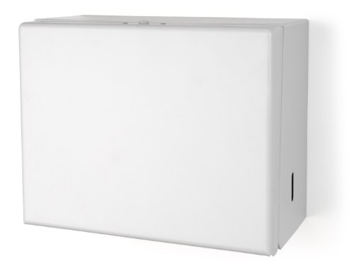 1-17 Metal Singlefold Towel Dispenser, White (Palmer Fixture White Metal)