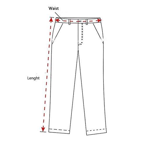 Leggings Gelb Battercake Uomo Sportivi Comodo Stretch Termici Pantaloni Da A Matita n7qfvXw7