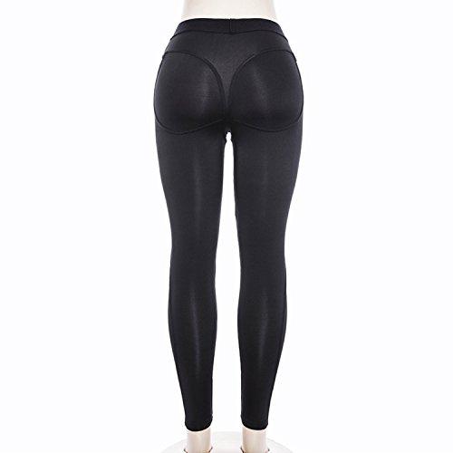 Sport Jogging Respirant Femme Lisli Longue Silm Leggings Haute Noir Lache Crayon Taille Fitness Printemps Yoga Pantalon n8nzAqwY