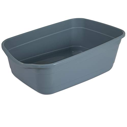 Whisker Doodle Giant Open Cat Litter Pan (Pan Litter Giant)