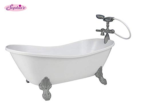 White Doll Bathtub by Sophia