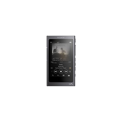 (Sony NW-A45 16GB High-Resolution Digital Music Player Walkman Black)