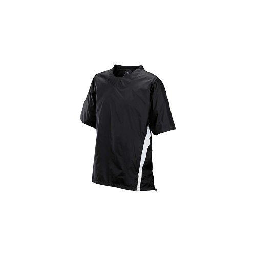 - Easton Enforcer Baseball Short Sleeve Batting Jacket Black S
