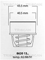 Triscan 8620 1582 Thermostat deau