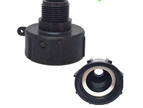 Used, AIBOAT 1000L IBC Adaptor PP Fittings Garden Hose Fitting for sale  Delivered anywhere in USA