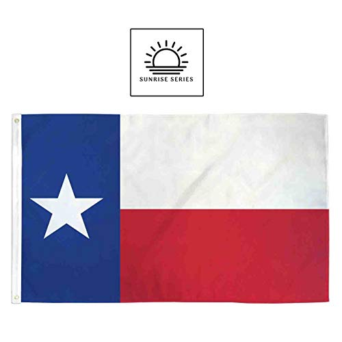 Infinity Republic Sunrise Series - Texas Lone Star State Flag 3x5ft Poly - Perfect for Indoors/Outdoors!