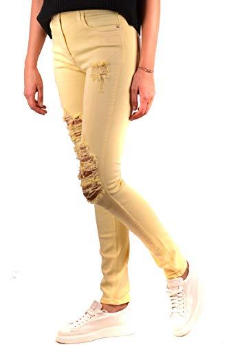 Cotone Jeans Donna Franchi Mcbi113311o Giallo Elisabetta Y0waqCY