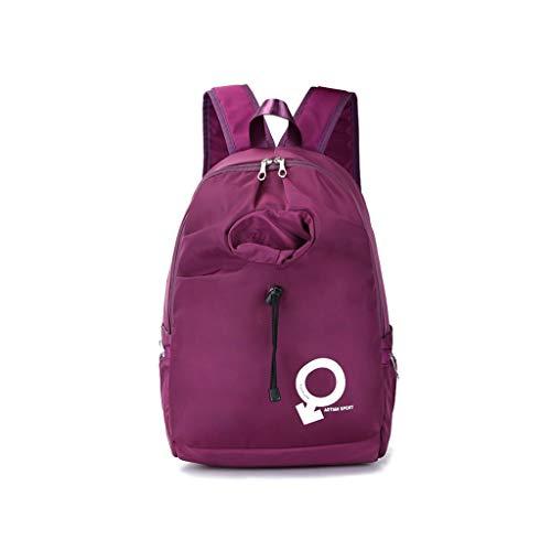 Zaino da dimensioni Clutch borsa viaggio Oxford Viola blu colore studenti Fashion Qxjpz Donna per 2019 29x17x49cm New Take Bag qvBYA