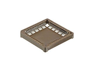 MILL-MAX 940-44-068-17-400000 68 Position (4 x 17) 1.27 mm Pitch Tin Finish Surface Mount PLCC Socket - 16 item(s) by Mill-Max