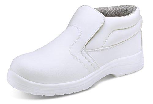 Clickfootwear Metatarsal Arbeit Stiefel Schwarz - blanc