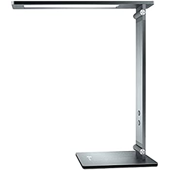 TaoTronics TT-DL18 10W Eye Care Desk Lamp with Durable Metal Body, Touch Sensitive Control and 4 Lighting Modes