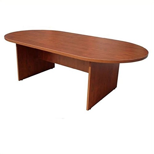 Boss 95 by 43-Inch Conference Table, Mahogany by Boss Office Products