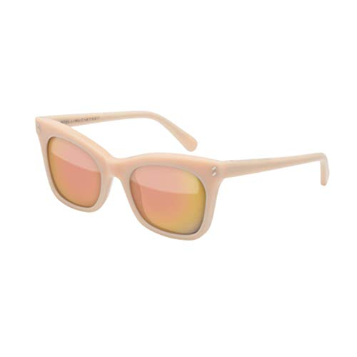 Amazon.com: Stella McCartney sc0025s rosa claro/rosa espejo ...