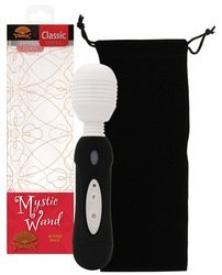 Vibratex Mystic Wand Battery Operated Black Silicone by ELD