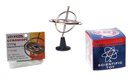 (TEDCO Original Gyroscope Nostalgic Pack Including 5 Replacement Strings ~ Bundle)