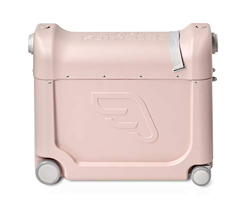 Jetkids by Stokke Kids Suitcase and Portable Bed, Pink Lemonade