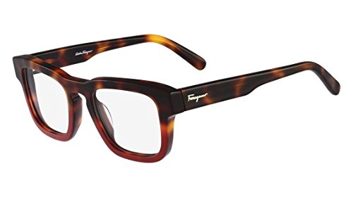 Salvatore Ferragamo Eyeglasses SF2716 207 Havana Red 49 22 - Eyeglass Outlet Designer Frames