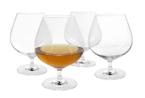 Artland Veritas Set of 4 Cognac Glasses by ARTLAND