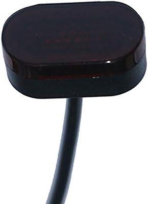 YGQersh Luz Trasera del monopatín Scooter eléctrico con Cola Trasera para Xiaomi Mijia M365 - Negro