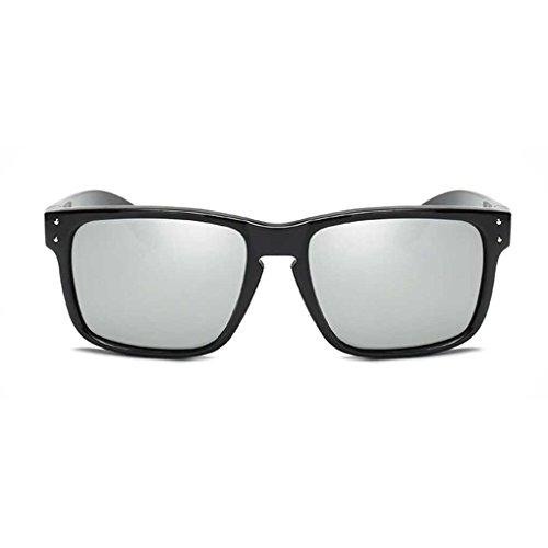 polarizados Clásica fish PC Fresca Vidrios Gentleman Sol Gafas Sol Gafas la de de Coolsir Vintage 5 de Gafas Marco Conducir zOPBwrxzq