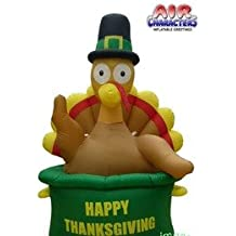 Inflatable Thanksgiving Turkey in Pot