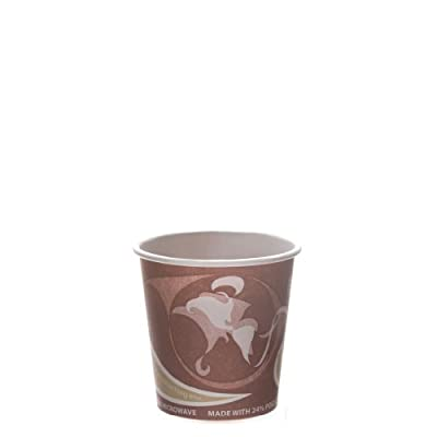 Eco-Products - Recycled Content Paper Cup - 4 oz. Hot Cup - EP-BRHC4-EW (20 packs of 50)