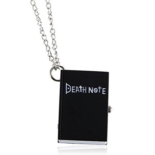 Chic Death Note Classic Fashion Quartz Pocket Watch Pendant Necklace (Death Note Cloth)