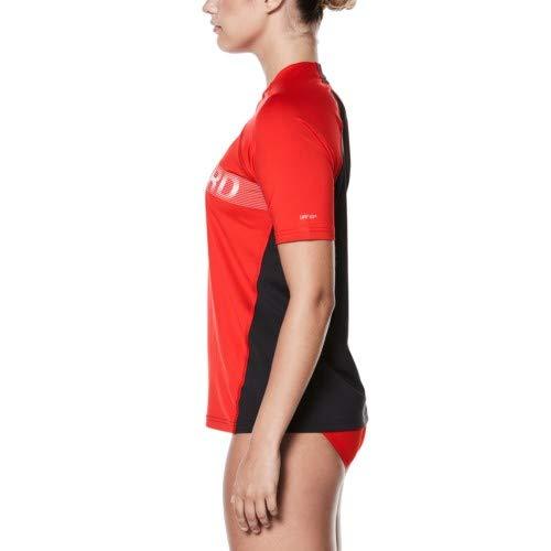 Nike Guard Performance Short Sleeve Hydroguard Female University Red Small