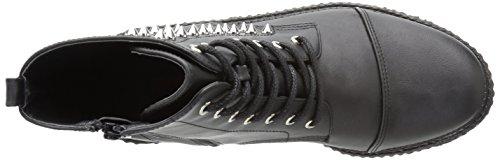 V-CREEPER-573 Blk Vegan Leather Size UK 6 EU 39