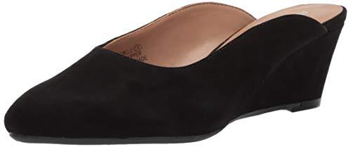 Aerosoles Women's ENCIRCLE Clog Black Suede 8 M US