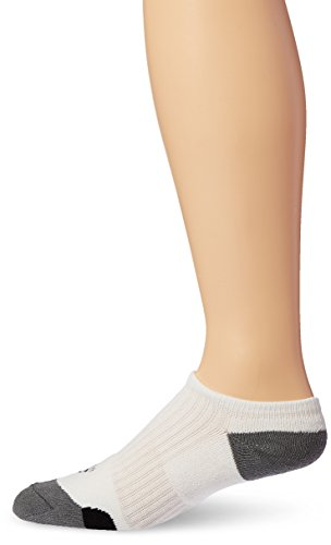 adidas Golf Comfort Low Socks (1-Pack), White/Black/Vista Grey 1114