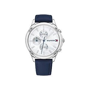 Tommy Hilfiger Reloj Analógico para Mujer de Cuarzo con Correa en Cuero 1782119 2
