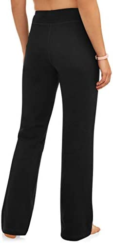 Athletic Works Women's Bootcut Fit Dri-More Core Cotton Blend Yoga Pants Available in Regular and Petite 2