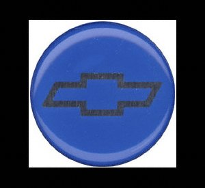Grant Signature Series Horn Button - Grant 5650 Signature Series Horn Button (Chevy Bow Tie, Blue/Silver)
