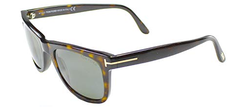 Tom Ford Leo 336 Wayfarer Leo  Havana Polarized (James Ford Tom Sunglasses)