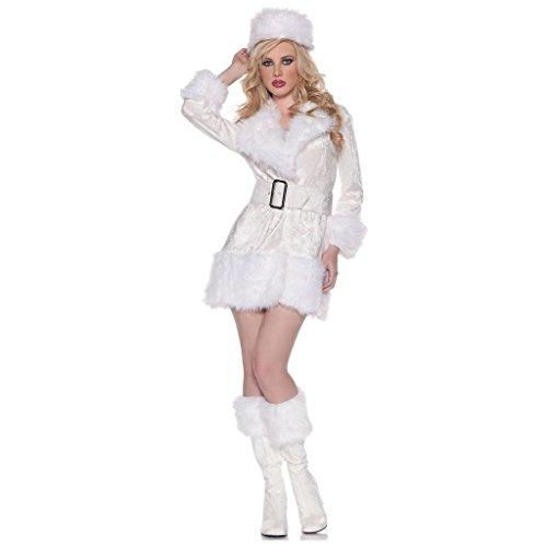 White Russian Fancy Dress Costume (CHSGJY White Russian Funny Costume Fancy Dress X-Large)