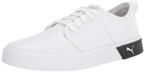 PUMA mens El Rey 2 Sneaker, White/Black, 9.5 Women