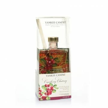Cranberry Chutney Signature Reed Diffuser by Yankee Candle 3 oz (Cranberry Candle Chutney Yankee)