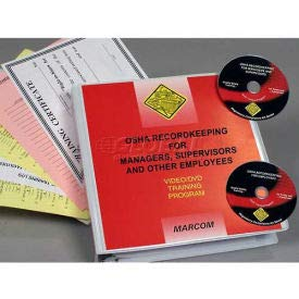 OSHA Recordkeeping For Managers, Supervisors And Other Employees DVD Package (V0000189EO)
