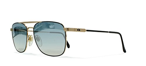 Valentino V429 917 Gold Vintage Sunglasses Aviator For - Aviators Valentino