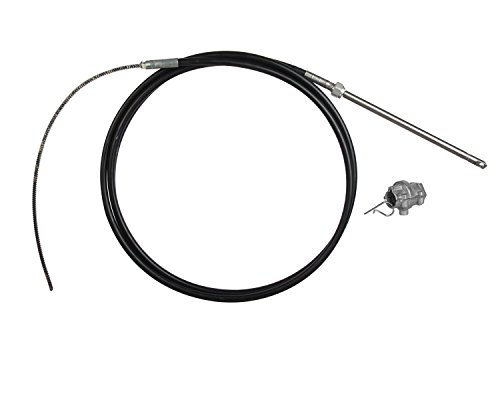 (SeaStar SSC6115 15' Safe-T Big-T Steering Cable with Quick Connect Adapter)